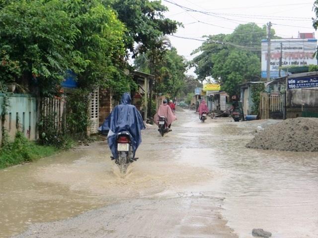 Đường Dương Văn An hiện tại sau trận mưa