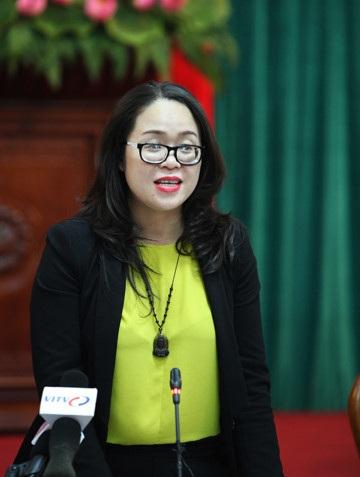 Bà Dương Minh Ánh - Hiệu trưởng Trường Cao đẳng Nghệ thuật Hà Nội. Ảnh: Vietnamnet.
