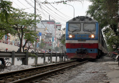 Hệ thống đường sắt ngày càng lạc hậu