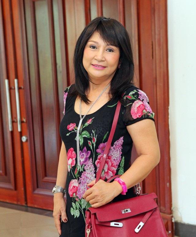 Nghệ sĩ Hải Lý - vợ đầu của nghệ sĩ Duy Phương.