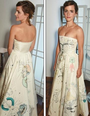 Trong lễ trao giải này, Emma Watson đã được vinh danh là người phụ nữ của năm.