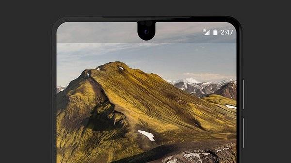 Màn hình của smartphone bao phủ luôn cả camera trước của sản phẩm