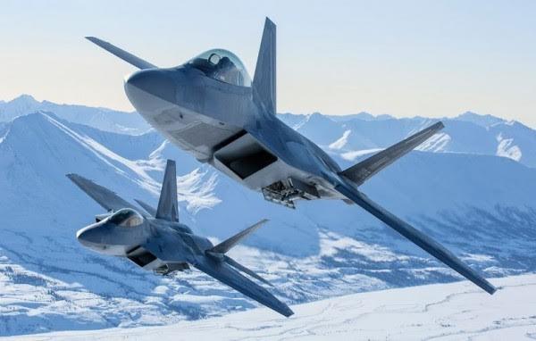 F-22 Raptor hiện là máy bay chiến đấu tối tân nhất của Mỹ (Ảnh: Lực lượng Không quân Mỹ)