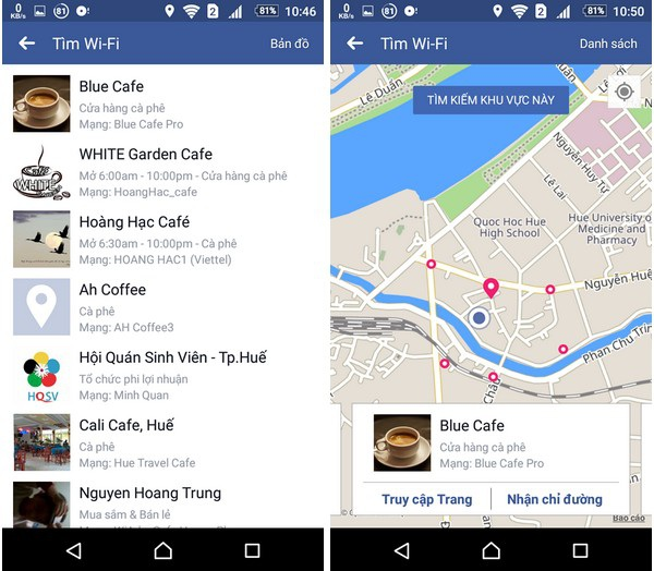 Facebook mở tính năng tìm kiếm Wi-Fi miễn phí - 3