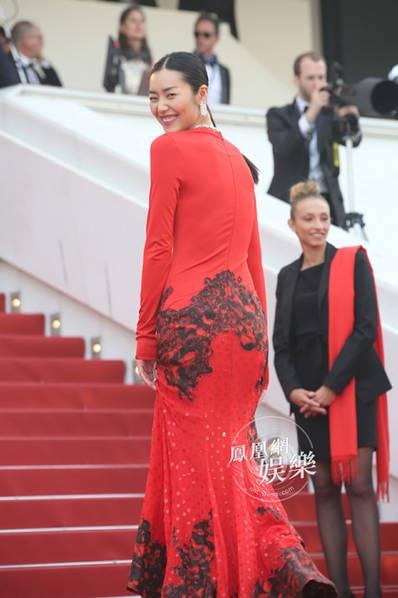 Siêu mẫu đến từ Trung Quốc - Liu Wen cũng góp mặt trong sự kiện này.