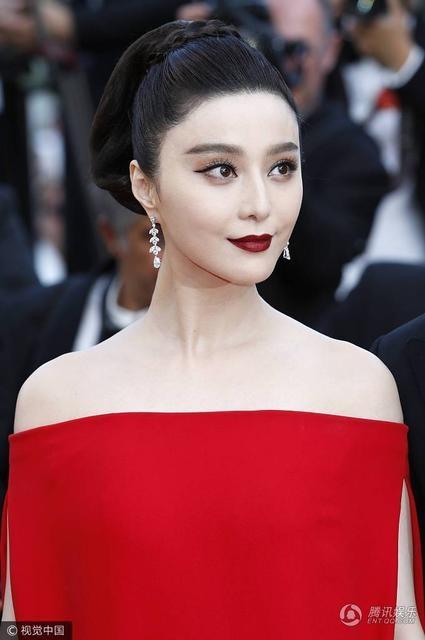Cận cảnh gương mặt xinh đẹp của Phạm Băng Băng.