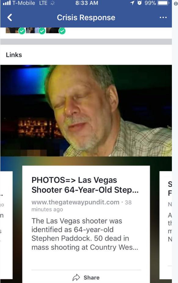 Tin tức giả mạo tràn lan trên Facebook, Google, Twitter sau vụ xả súng tại Las Vegas - 3