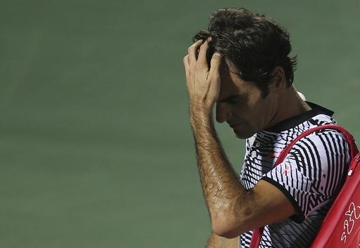 Sự thất vọng của Federer sau khi bị loại đầy bất ngờ