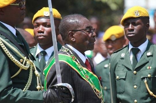Tổng thống Zimbabwe Rober Mugabe (Ảnh: Zimbabwe Today)
