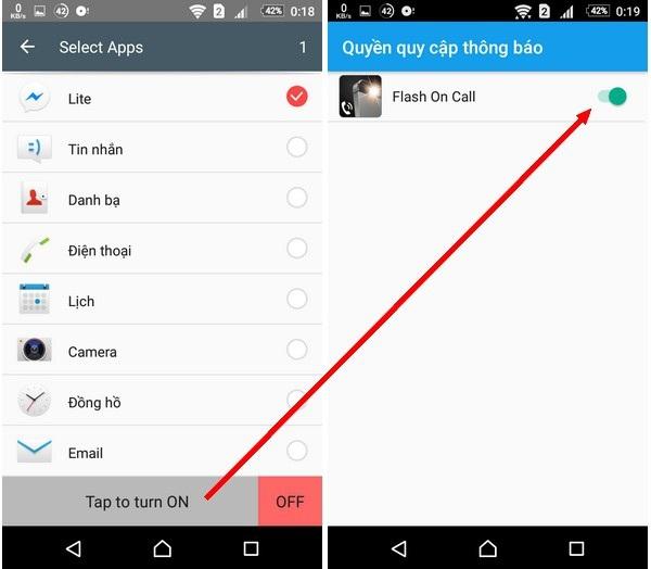 Thủ thuật dùng đèn flash để thông báo khi có cuộc gọi hay tin nhắn trên smartphone - 3