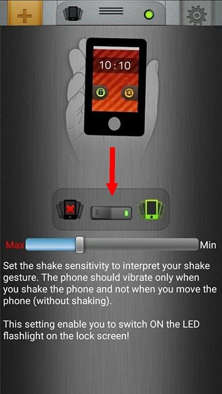 Tuyệt chiêu kích hoạt nhanh đèn flash trên smartphone bằng cách lắc thiết bị - 2