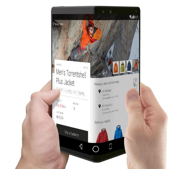 Samsung sẽ ra mắt Galaxy Note có thể gập được trong năm 2018.