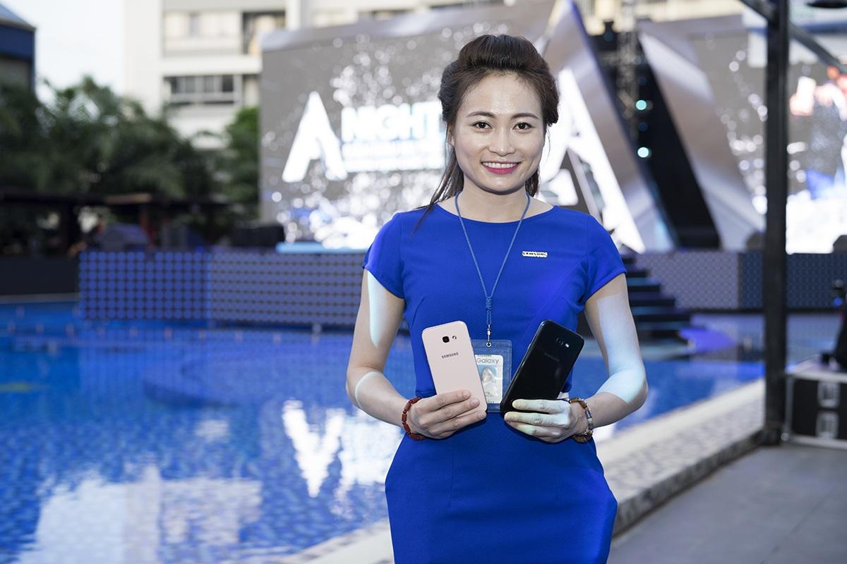Samsung Galaxy A5 và A7 2017 chính thức ra mắt, giá từ 8,9 triệu đồng - 1