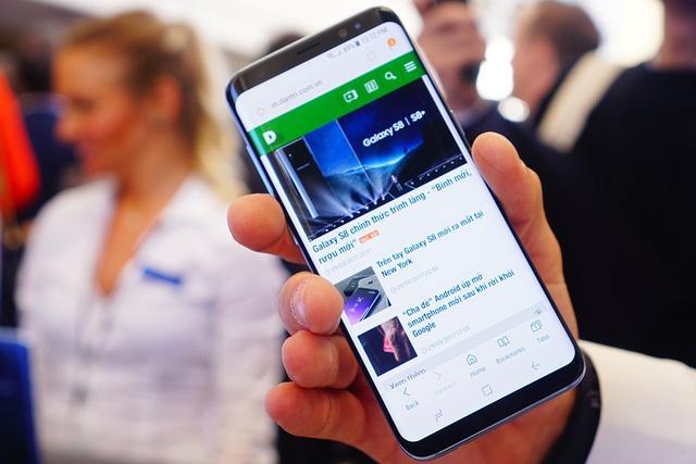 Galaxy S8 lập kỷ lục về đơn đặt hàng trước tại Hàn Quốc.