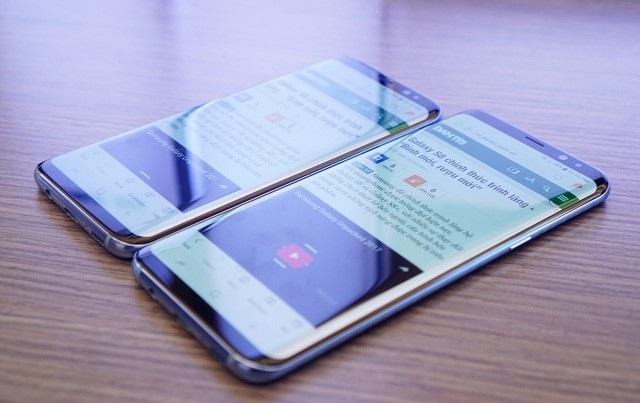 Điểm mặt smartphone màn hình tràn viền bán tại Việt Nam trong năm 2017 - 2