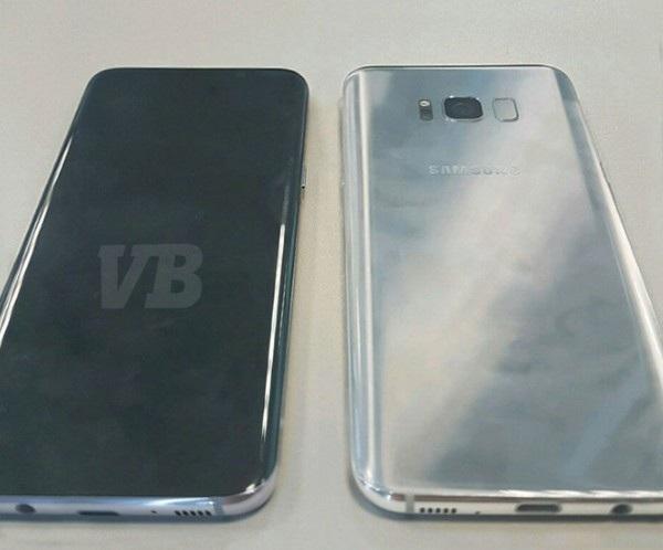Hình ảnh mặt trước và mặt sau của Galaxy S8 từng bị rò rỉ trước đây
