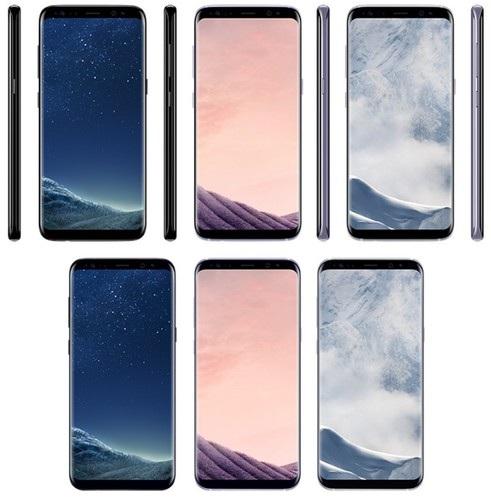 Hình ảnh những màu sắc mới của Galaxy S8 và S8+ được Evan Blass chia sẻ