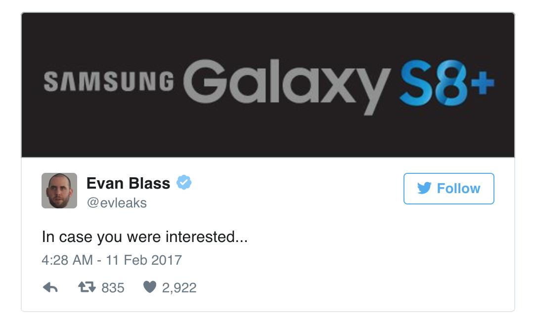 Sẽ có phiên bản Samsung Galaxy S8 Plus ra mắt ngày 29/3? - 1