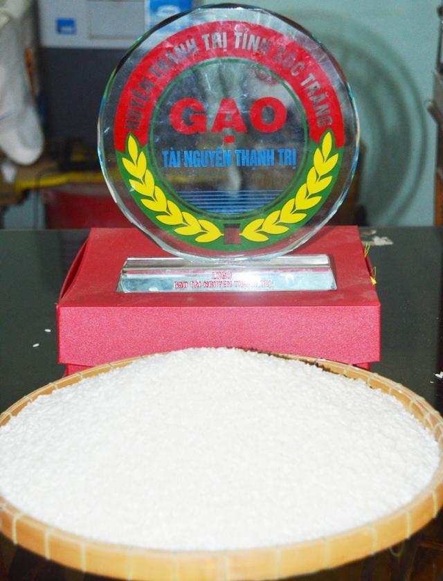 Gạo Tài Nguyên Thạnh Trị đã được Cục Sở hữu trí tuệ công nhận nhãn hiệu.
