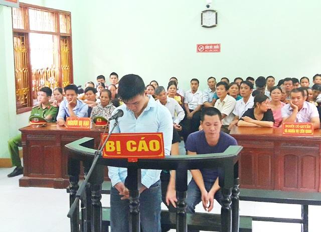 Bị cáo Nguyễn Quốc Dũng tại phiên tòa