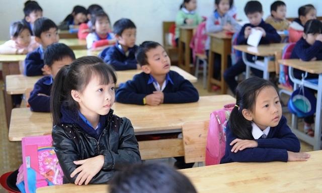 Học sinh ở Lâm Đồng trong chương trình học về phòng chống xâm hại, lạm dụng tình dục (Ảnh: Hoài Nam)