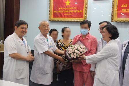 Sau hơn 3 tuần được ghép tim, sức khỏe của bệnh nhân đã bình phục tốt
