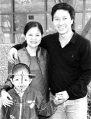Gia đình nghệ sĩ Quốc Tuấn.