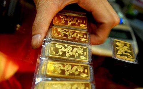 Giá vàng giảm nhanh (ảnh minh họa).