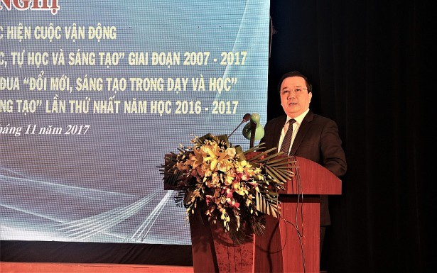 Ông Chử Xuân Dũng, Giám đốc Sở GD&ĐT Hà Nội