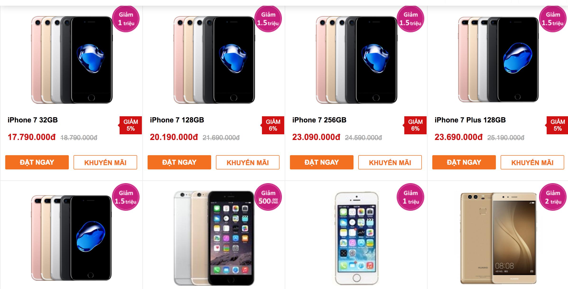 iPhone giảm giá tiền triệu kích cầu trước khi rơi vào mùa thấp điểm - 1
