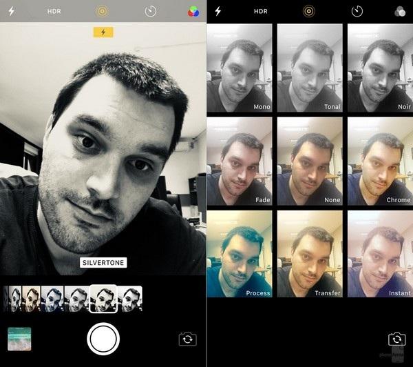 Bộ lọc camera: có vẻ như tính năng tạo bộ lọc trên camera của iOS 11 không trực quan bằng chức năng tương tự của iOS 10.