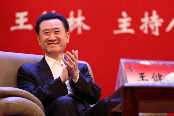 Chủ tịch Wanda Group, ông Wang Jianlin phát biểu ở Đại học Khoa học Chính trị và Luật Trung Quốc vào ngày 12/5/2017 tại Bắc Kinh, Trung Quốc. (Nguồn: VCG | Getty Images)