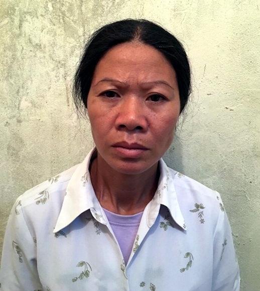 Đối tượng Nguyễn Thị Điệu.