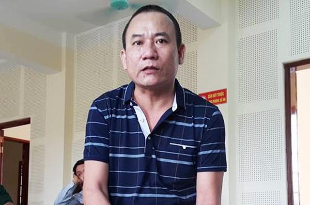 Bị cáo Trần Đại Nghĩa tại phiên tòa