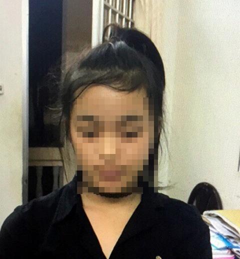 Nguyễn Thị Thu Nhi tại cơ quan điều tra