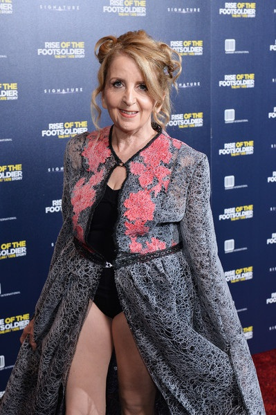 MC nổi tiếng Gillian McKeith dự ra mắt bộ phim Rise of the Footsoldier 3: The Pat Tate Story tại London, Anh quốc ngày 26/10 vừa qua