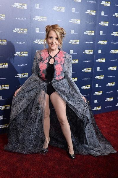 Bộ váy được cho là không phù hợp với tuổi của Gillian McKeith