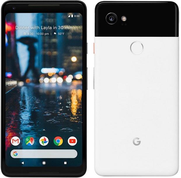 Pixel 2 XL sở hữu thiết kế hiện đại với viền màn hình mỏng