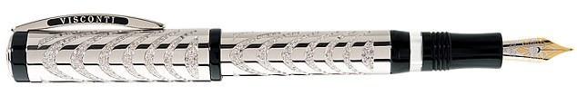 Chiếc bút mực được đính 650 viên kim cương giá hơn 1,2 tỷ đồng. (Nguồn: DM)