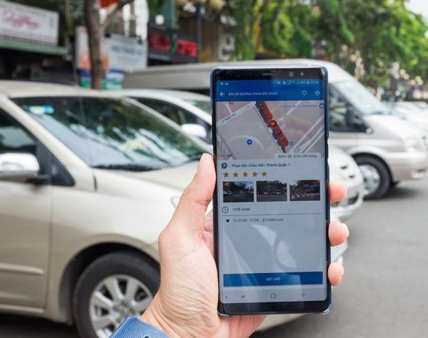 Dùng thử ứng dụng đặt chỗ giữ xe ô tô tại Thành phố Hồ Chí Minh - 1