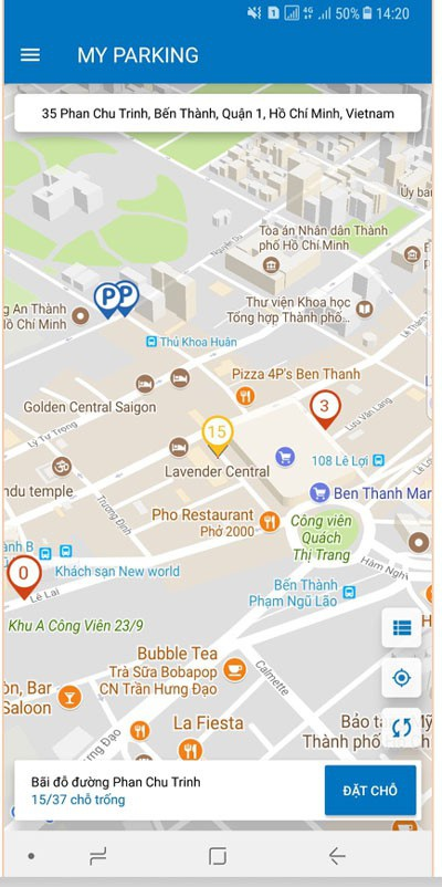 Dùng thử ứng dụng đặt chỗ giữ xe ô tô tại Thành phố Hồ Chí Minh - 5