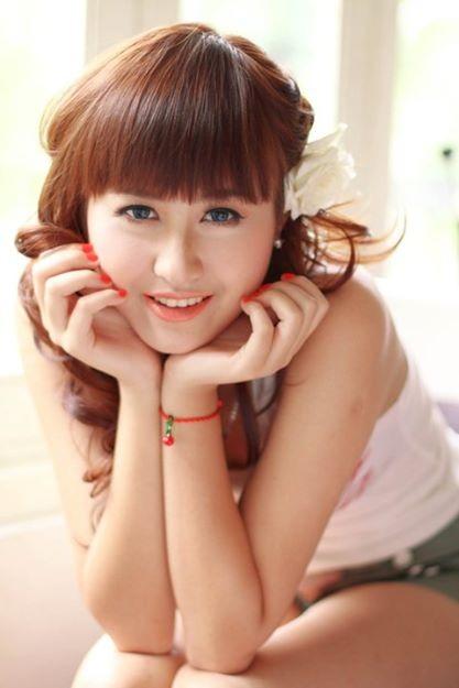 Hà Lade nổi bật trong cuộc thi Miss Teen năm 2009.