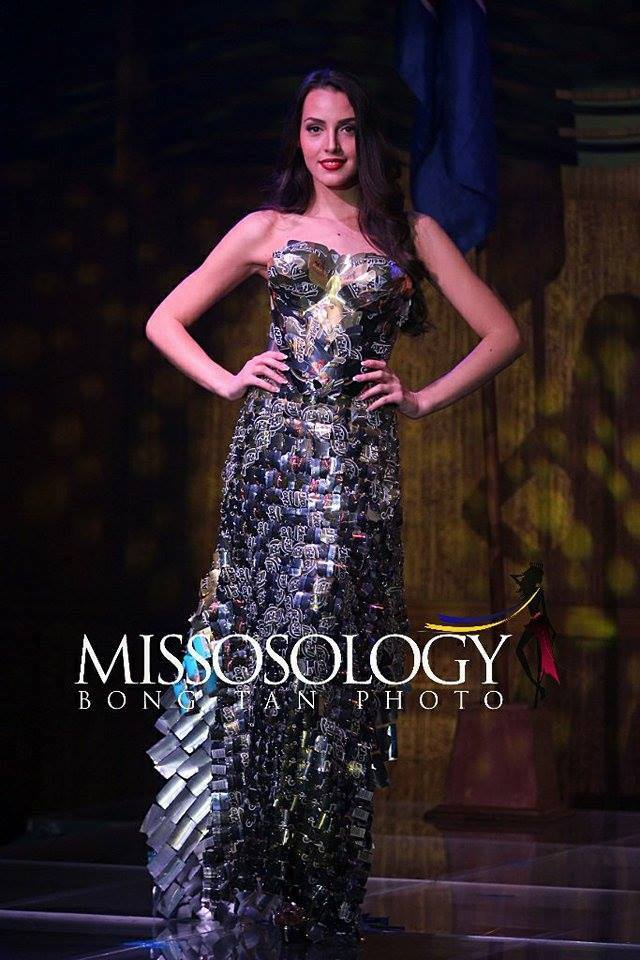 Hà Thu giành huy chương đồng thứ hai tại Hoa hậu Trái đất 2017 - 19