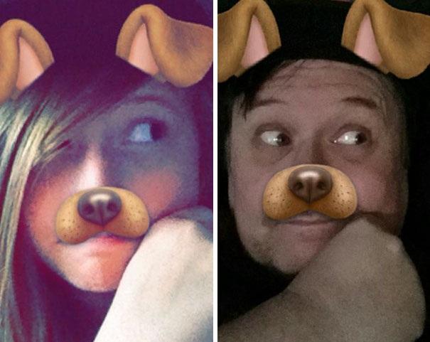 """Ông bố bất ngờ """"siêu hot"""" trên mạng xã hội vì bắt chước con gái - 6"""