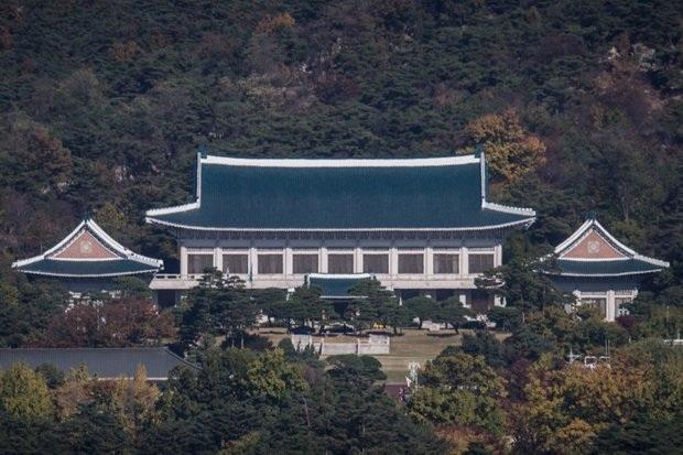 Dinh tổng thống Hàn Quốc hay còn gọi là Nhà Xanh. (Ảnh: Reuters)