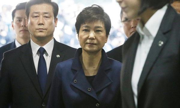 Cựu Tổng thống Hàn Quốc Park Geun-hye. (Ảnh: Reuters)