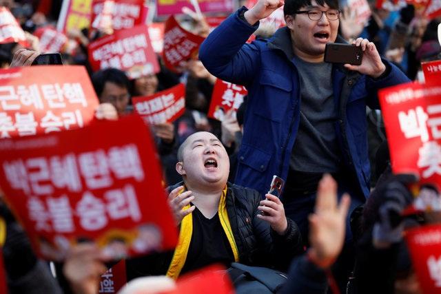 Bà Park, 65 tuổi, là tổng thống dân cử đầu tiên tại Hàn Quốc bị phế truất. (Ảnh: Reuters)