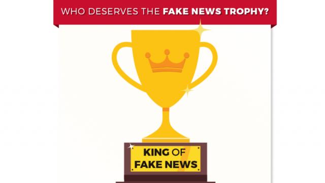 """Ông Trump đề cử """"cúp tin giả"""" cho CNN, Time - 1"""