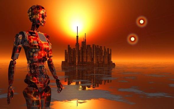 Người ngoài hành tinh có thể đã kết hợp với trí tuệ nhân tạo.