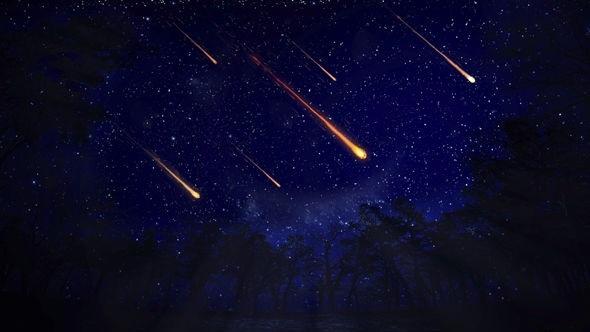 Mưa sao băng Taurids diễn ra vào tháng 11 hàng năm